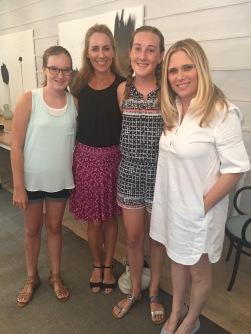 Susan, Anna, Amelia